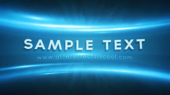 Epic After Effects Intro Template No Plugins Required