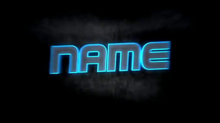 EDM Style Neon AE C4D Intro Template