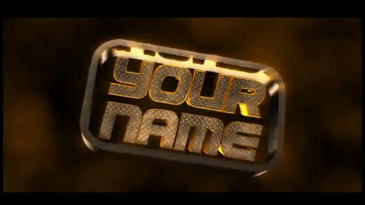Metal and Gold 3D Intro Template Free Adobe After Effects and Cinema 4D Template