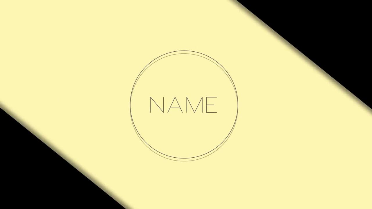 free 2d intro template after effects