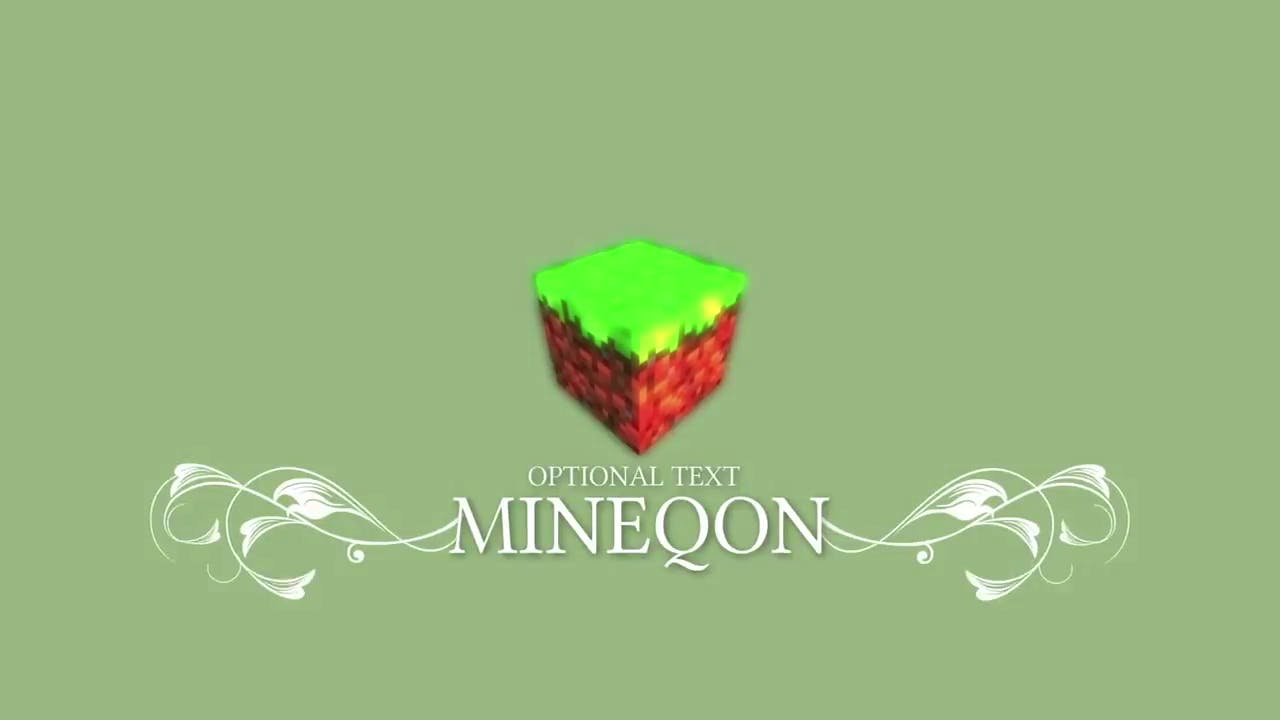 epic 2d minecraft intro template free download link
