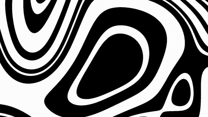 Bold Black and White Background Loop Free Background for Videos Presentations