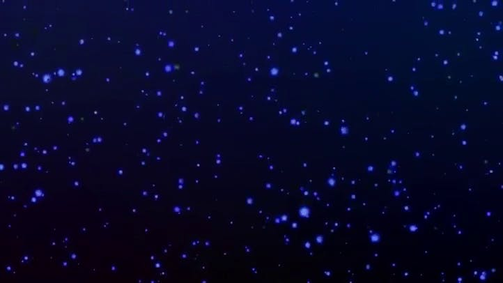 Blue Sparkle Free HD Background Loop