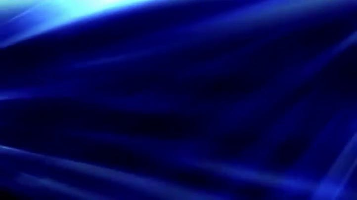 Blue Flow Dark blue abstract animation with slowly moving grid lines and some light effects