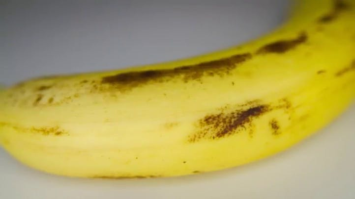 Ripening Banana Time Lapse Stock Footage