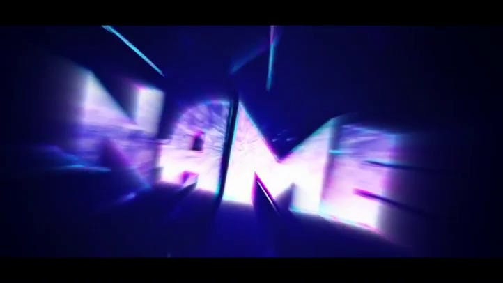 FREE AE C4D 3D Intro Template Lines