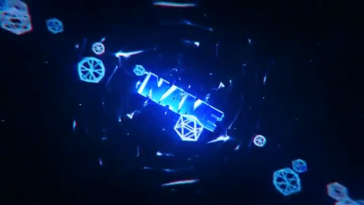 FREE Intro Template C4D AE Hex