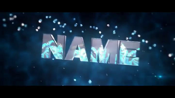 FREE 3D Intro Template COLORS