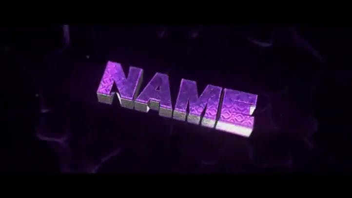 FREE Purple Sync Blast Intro C4D AE Template
