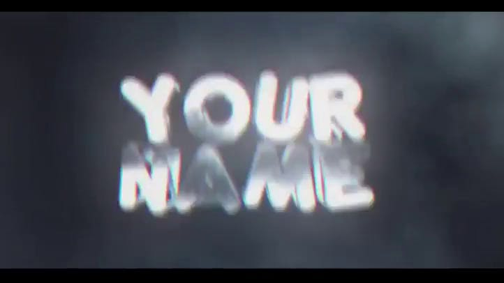 FREE AMAZING 3D Intro Template After Effects C4D
