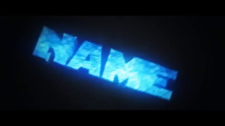 FREE AMAZING BLUE Intro Template Cinema 4D After Effects