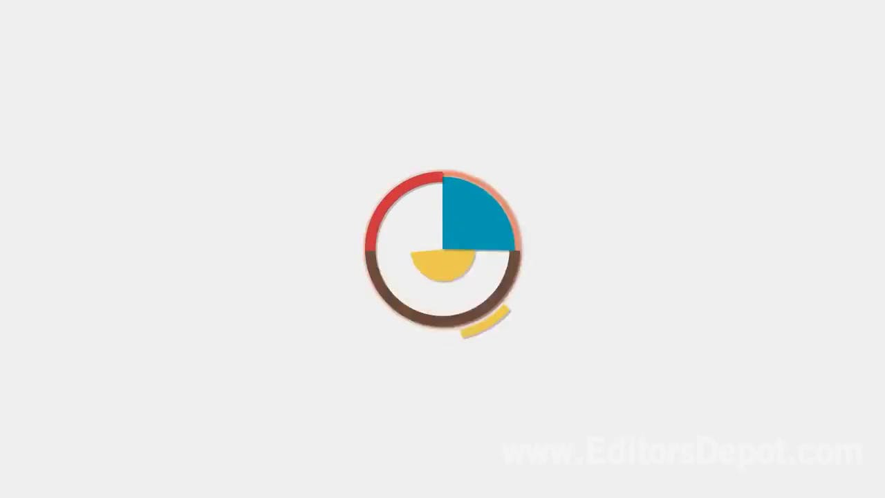 best free 2d shapes intro template