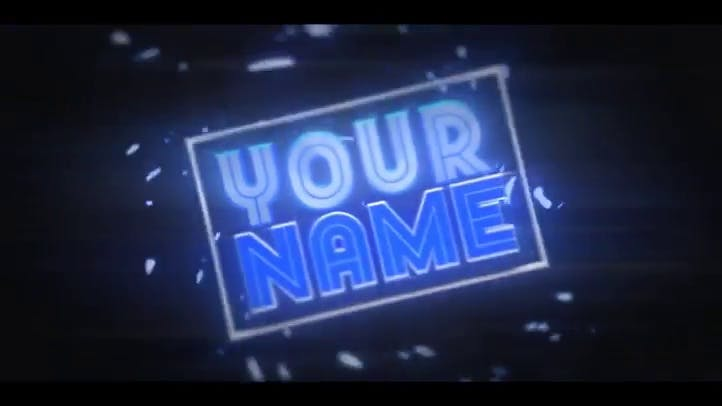 FREE AMAZING INTRO TEMPLATE C4D AE
