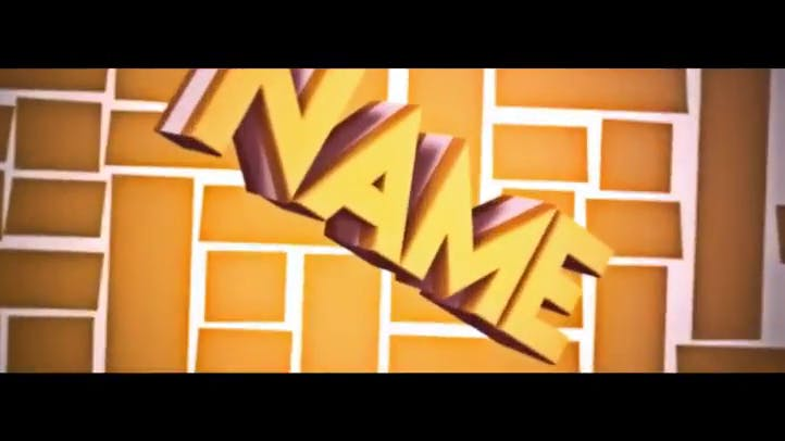 SWEET C4D AE 3D INTRO TEMPLATE FREE