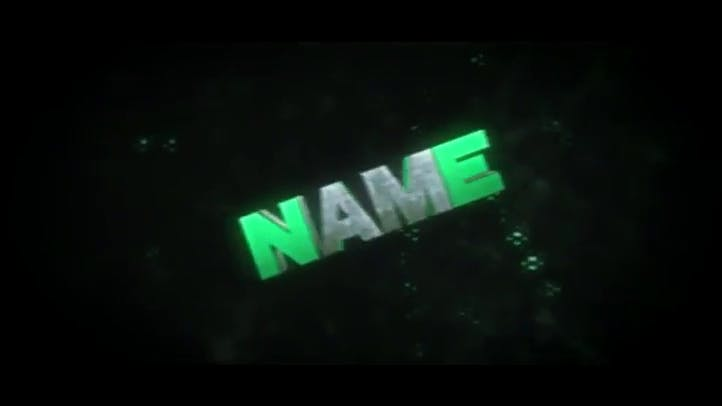 FREE 3D Intro Template Waves AE C4D