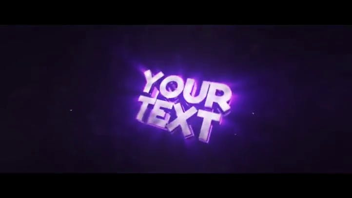 FREE 3D Amazing Intro Template Sync Colorful Cinema 4D After Effects