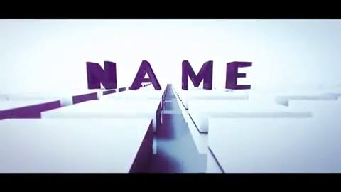 FREE Super Clean Intro Cinema 4D After Effects Template with Tutorial