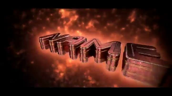 FREE Blender ONLY 3D Intro Template Fire Flames 60FPS