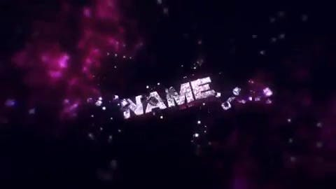 FREE 3D Space Stars Intro Template After Effects Cinema 4D