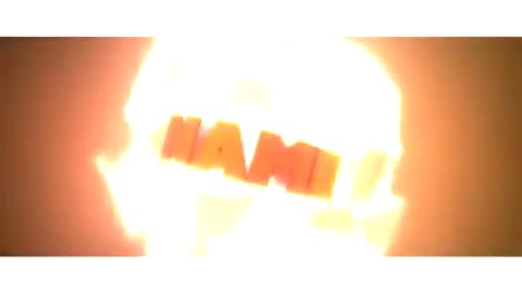 FREE Awesome Red Fire 3D Intro Template Cinema 4D After Effects