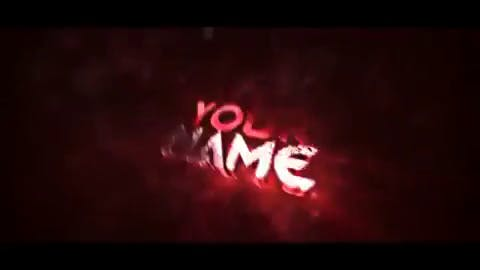 FREE Red Particles 3D Intro Template After Effects Cinema 4D
