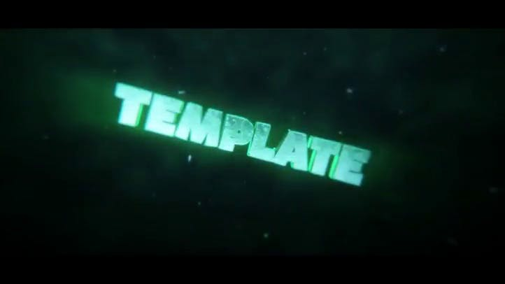 FREE Sick Clear 3D Intro Template After Effects Cinema 4D