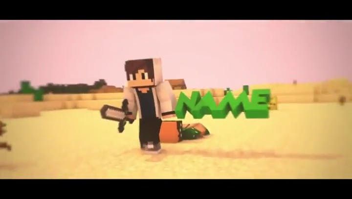 FREE Minecraft Intro Cinema 4D and After Effects Template