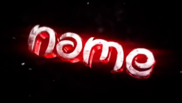 FREE Red Pump 3D Intro Template Cinema 4D After Effects