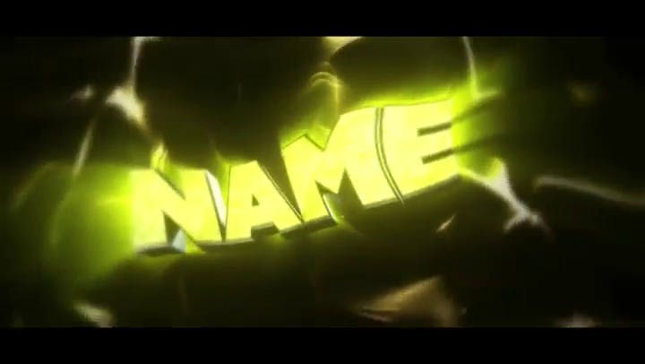 FREE 3D Chill Intro Template After Effects Cinema 4D