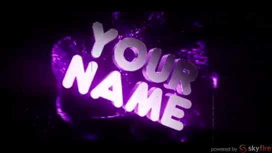 FREE Purple Pulse 3D Intro Template Cinema 4D After Effects