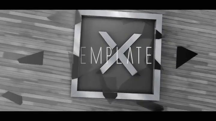 FREE Photo Frame Intro Template After Effects Cinema 4D