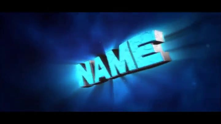 FREE BlueChill Intro Cinema 4D After Effects