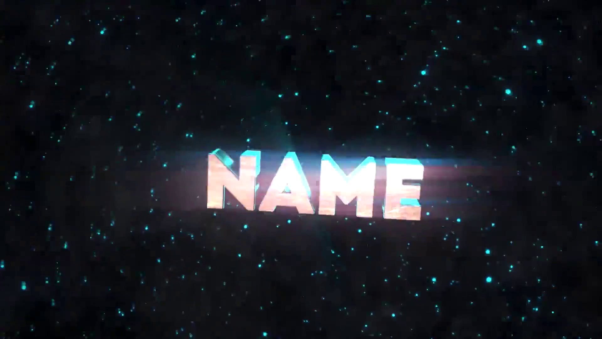 Space Blue Blender ONLY Intro Template FREE DOWNLOAD