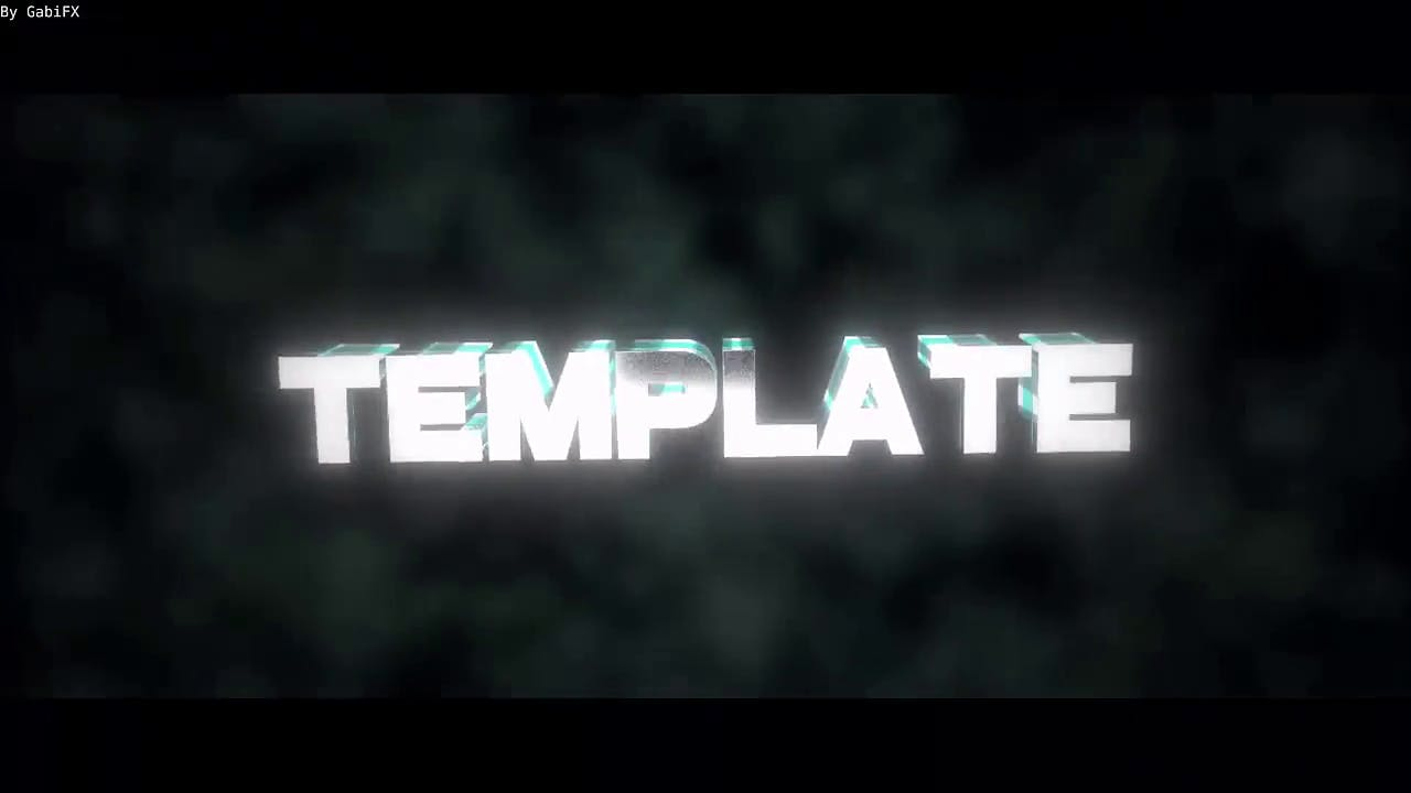 FREE Neutral Pumps Blender Intro Template