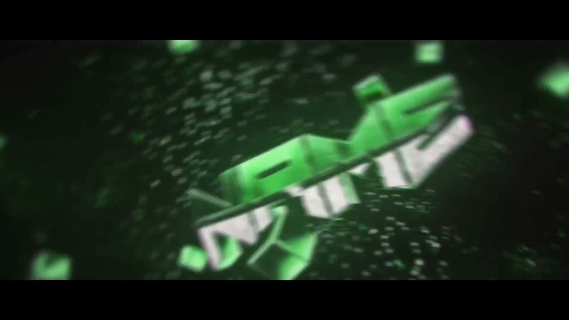 FREE Green Color Sync Intro Template Cinema 4D After Effects