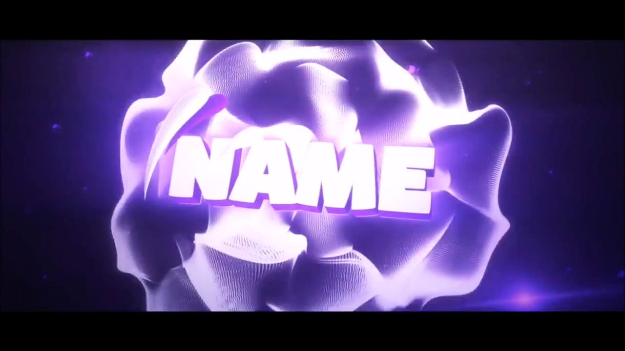 FREE Super ChillPurple Cinema 4D After Effects Intro Template