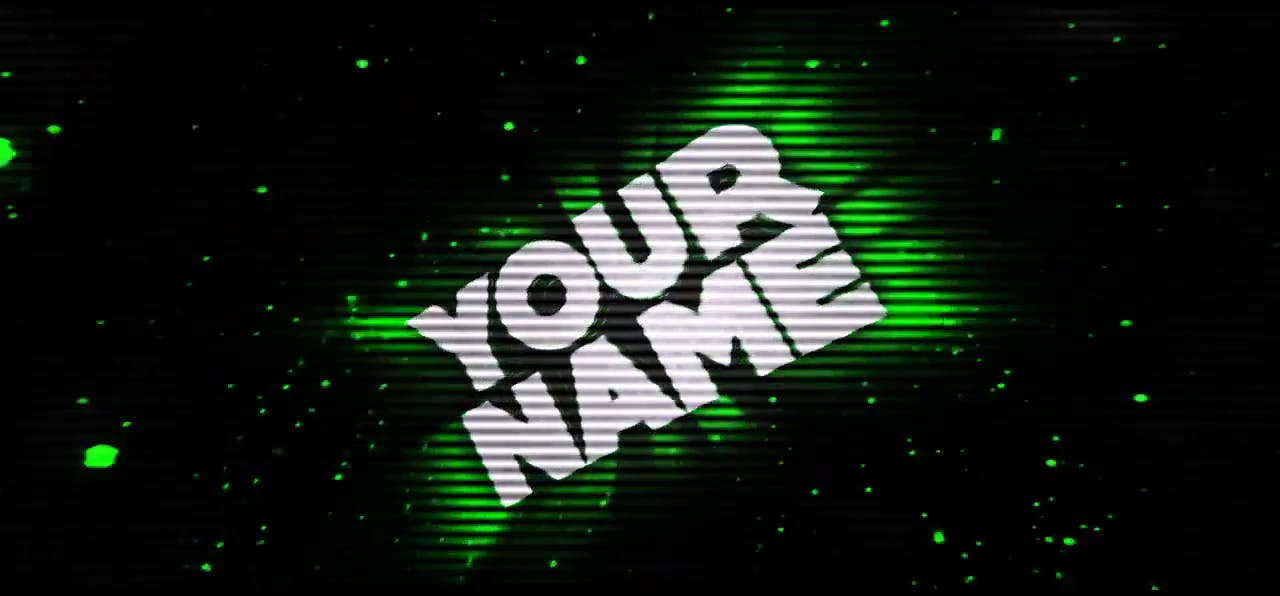 FREE Green Pulsation Cinema 4D After Effects Intro Template
