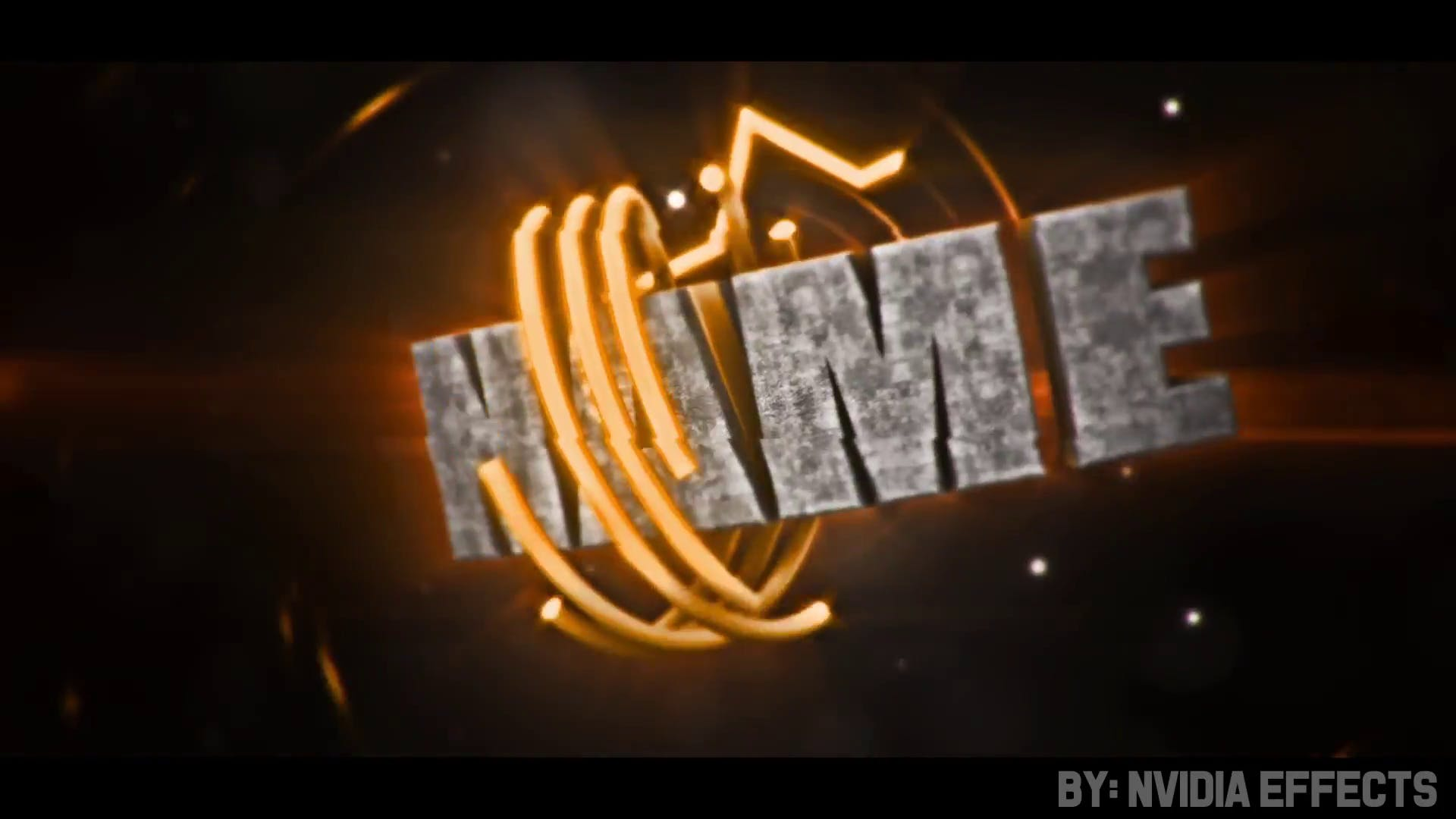 FREE Dark Holo Intro Cinema 4D After Effects Template