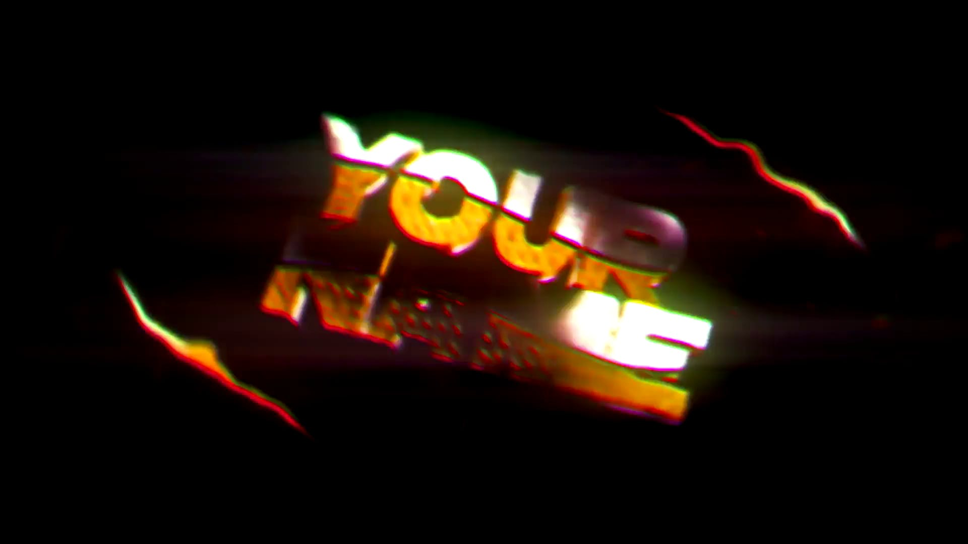 FREE Chrome Space Style Intro Template Cinema 4D After Effects