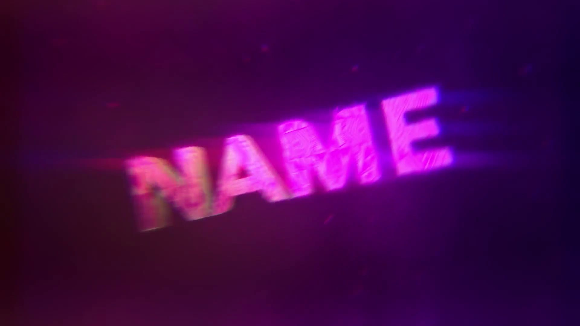 Purple Chill Bounce Intro Template Cinema 4D After Effects