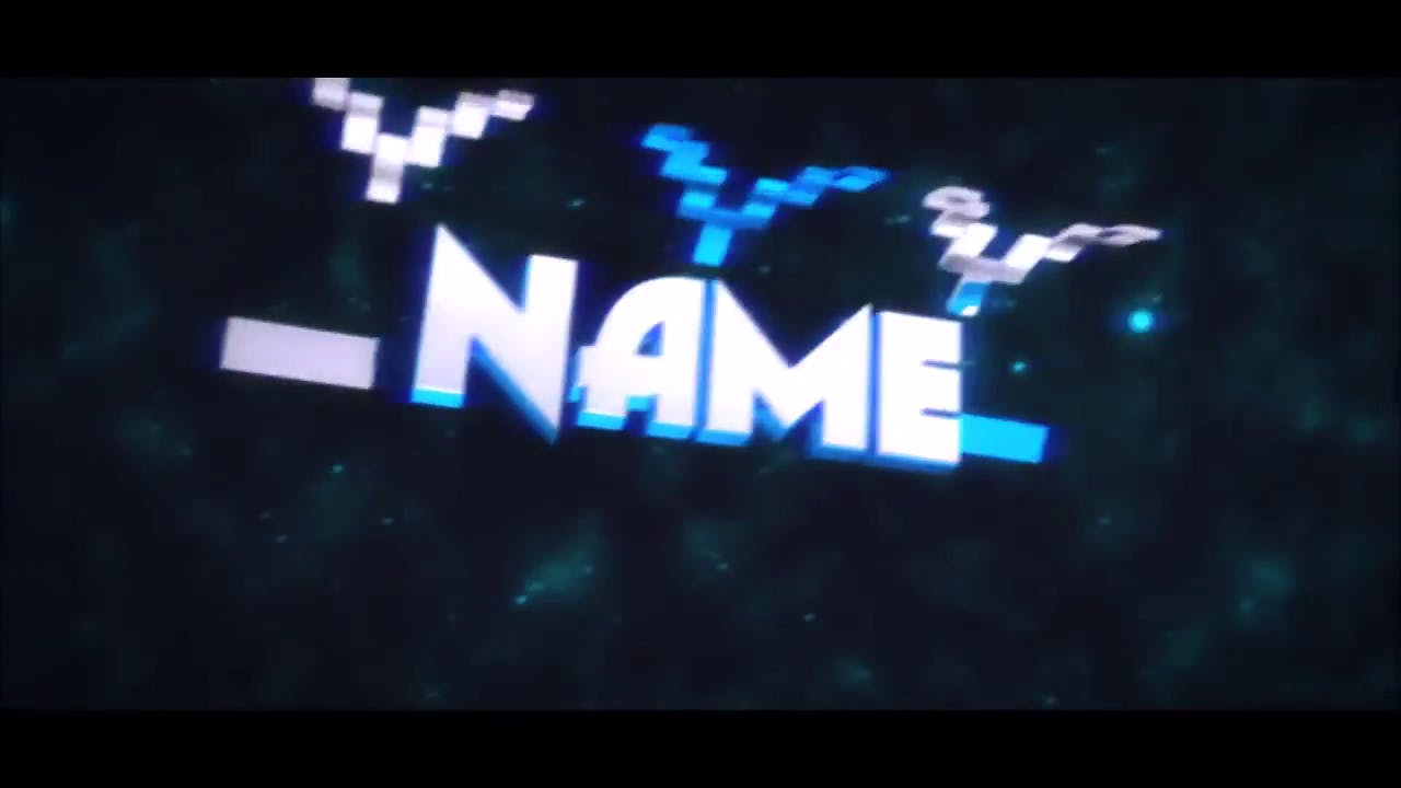 Polygon Floating Space Sync 3D Intro Template