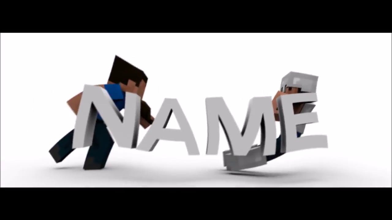 FREE Minecraft Animated Intro Template After Effects Cinema 4D