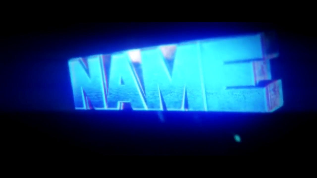 FREE Baby Blue Chill Intro Template Cinema 4D After Effects
