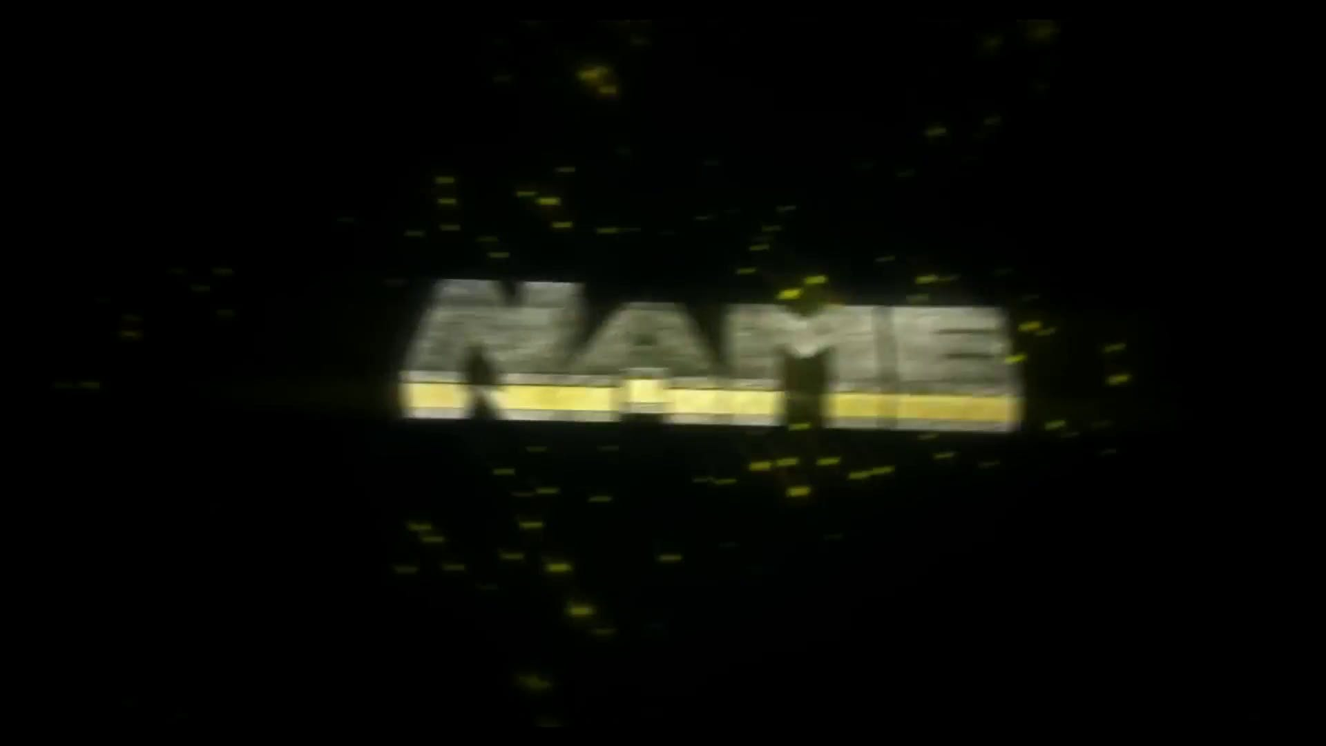 FREE GOLD Cinema 4D After Effects Intro Template