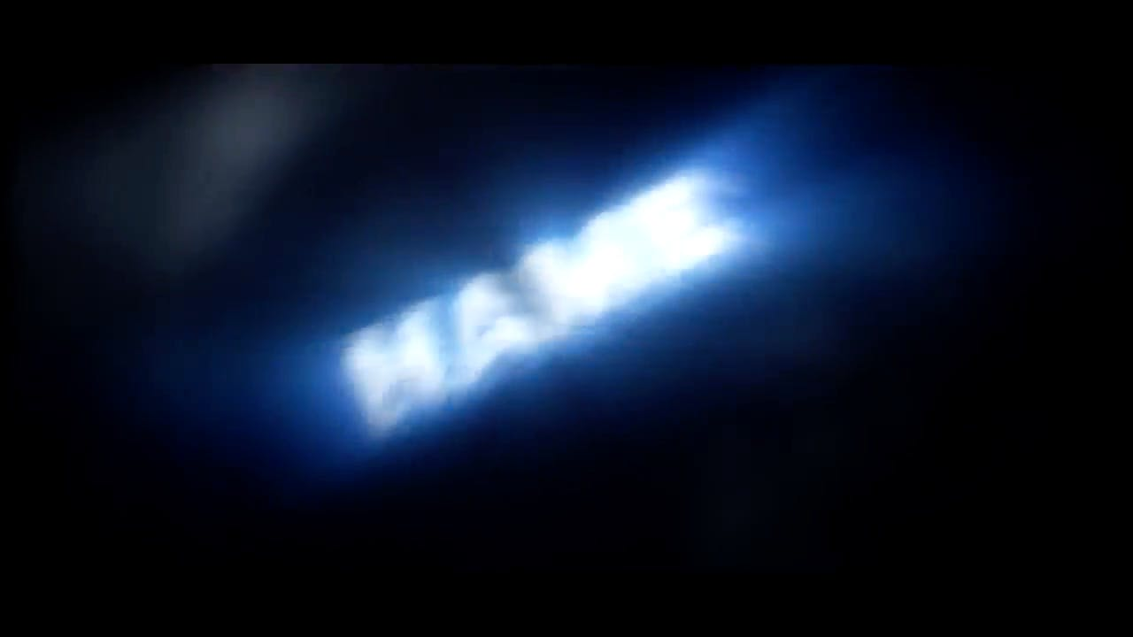 Blue Lighting Flares Intro Template FREE DOWNLOAD