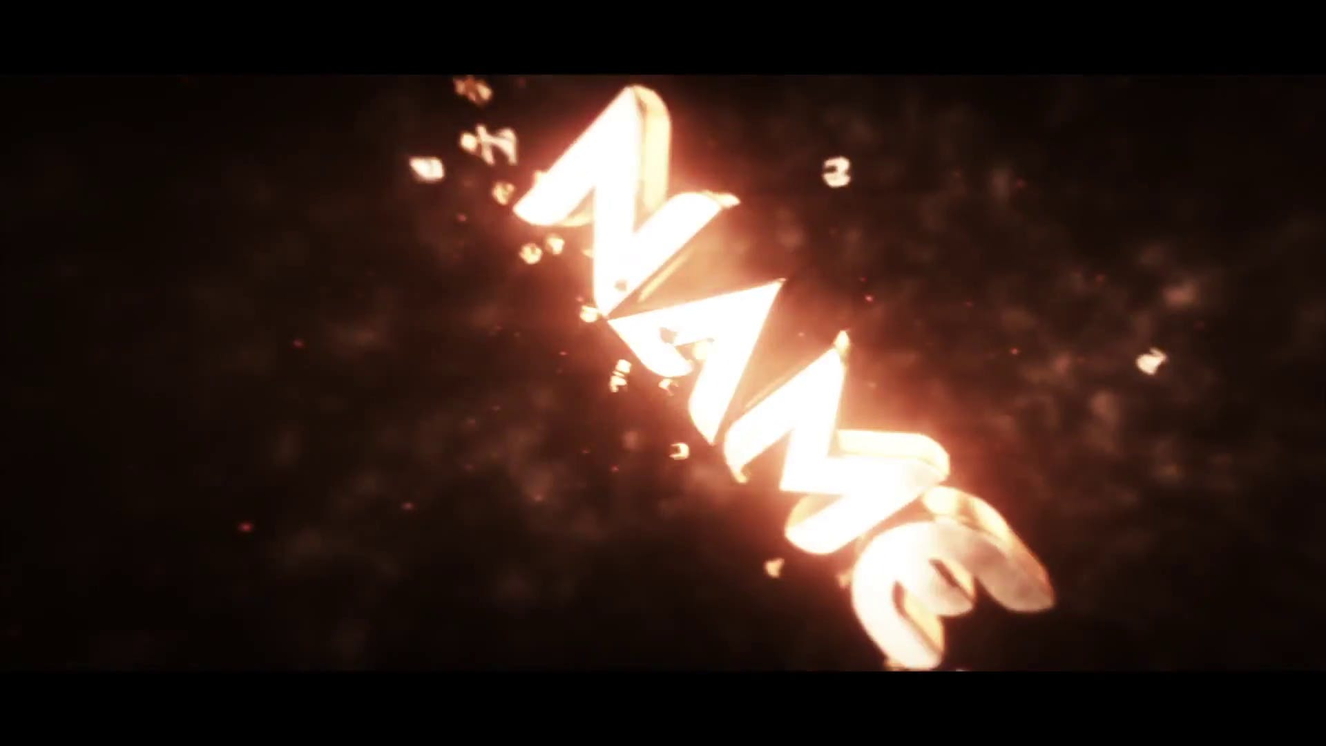 Gold Sync Intro Template Cinema 4D After Effects FREE DOWNLOAD