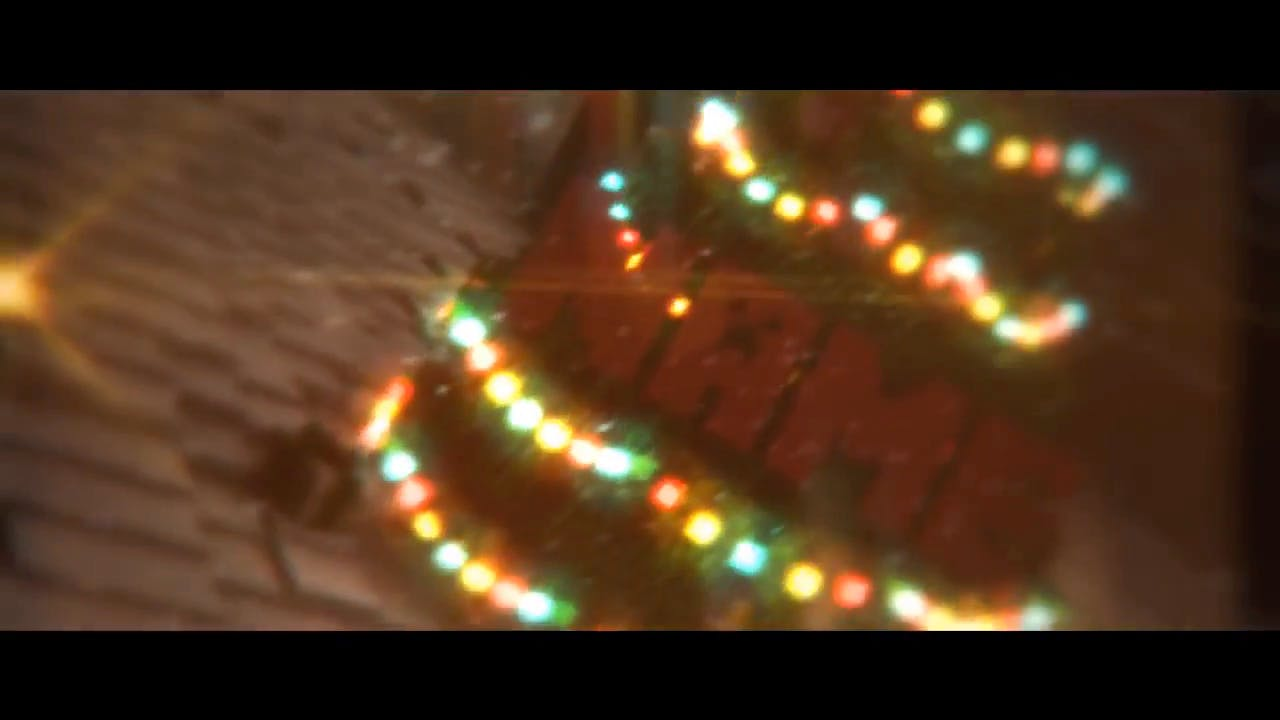 FREE Minecraft Christmas Intro Template Cinema 4D After Effects