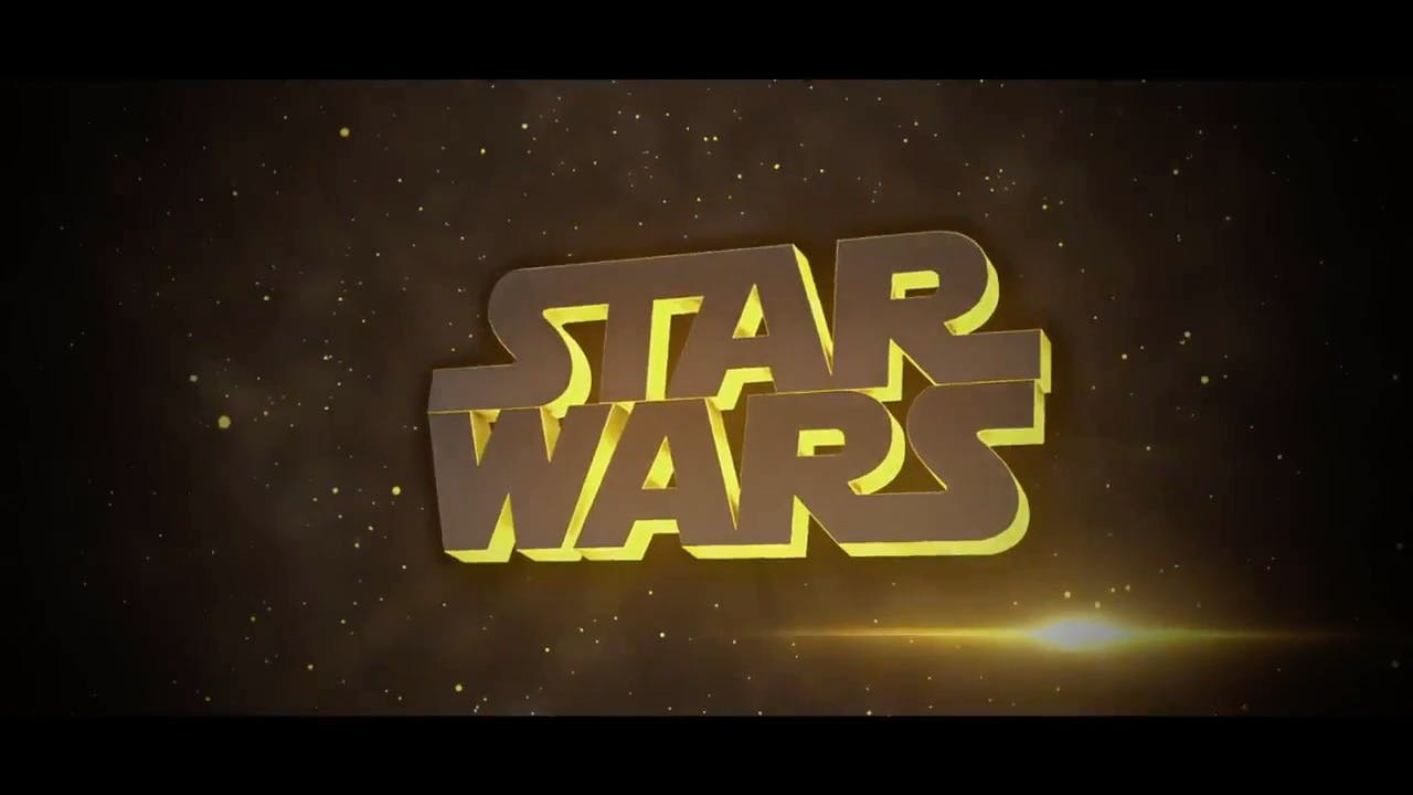 Blender ONLY Star Wars Intro Template FREE DOWNLOAD