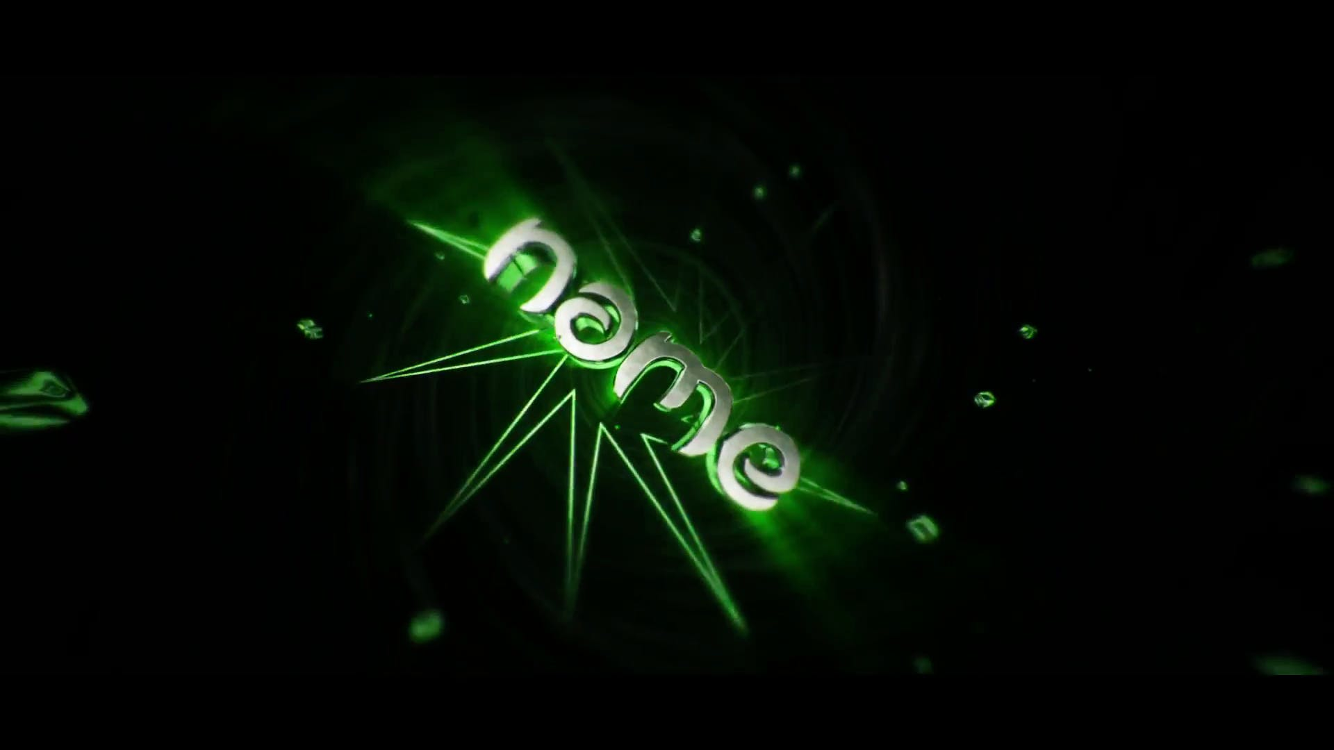 GreenBounce Intro Template Cinema 4D After Effects FREE DOWNLOAD
