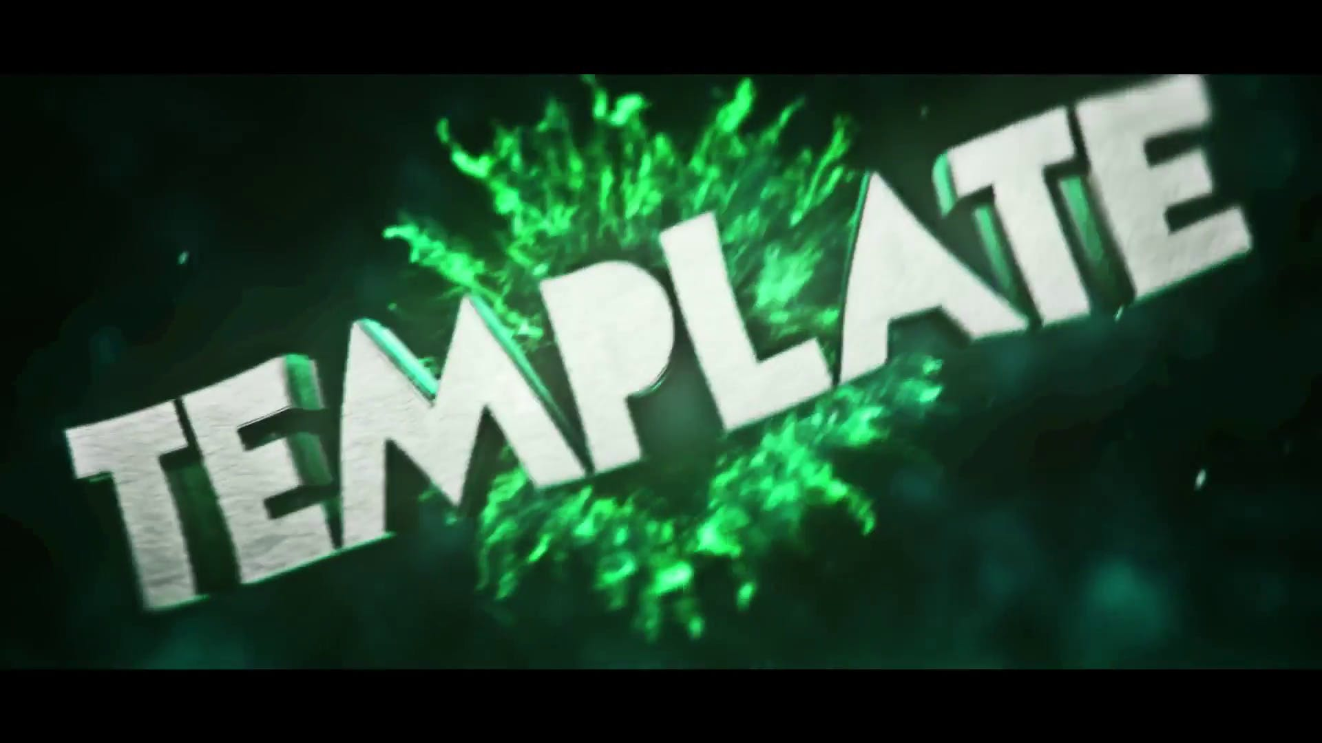 FREE CleanShockwave Green C4D AE Intro Template 2015
